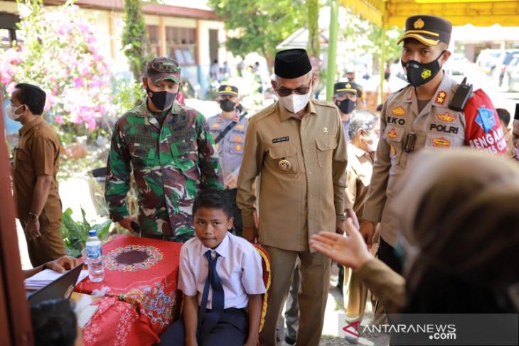 1.839 siswa di Nagan Raya Aceh sudah disuntik vaksin COVID-19