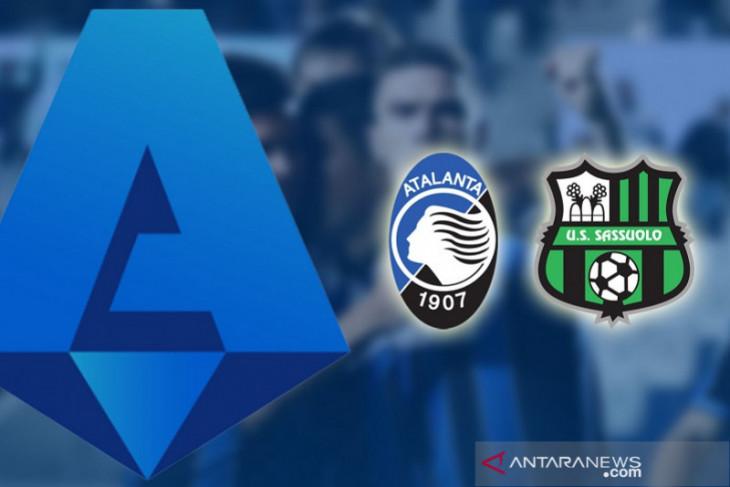 Atalanta paksa Sassuolo telan tiga kekalahan beruntun