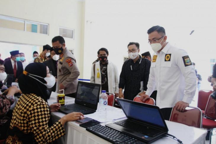 Wagub Andika : Rendahnya vaksinasi di Banten terkendala pasokan vaksin
