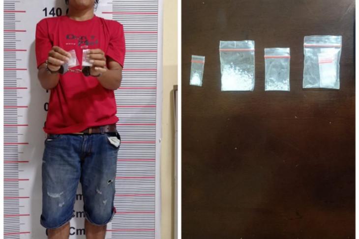 Pemilik sabu yang coba melarikan diri ditangkap Polsek Secanggang