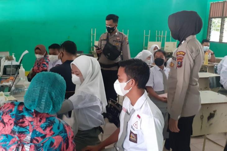 1.250 pelajar Kota Binjai sudah vaksinasi