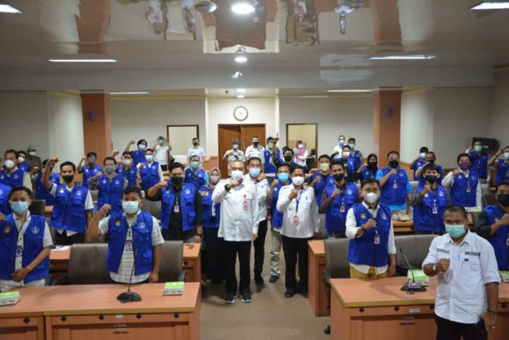155 relawan peroleh peningkatan tangani pandemi COVID-19 di Tangerang