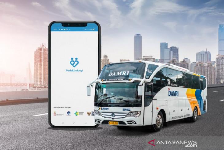 DAMRI terapkan ketentuan penumpang harus terdaftar di aplikasi Peduli Lindungi