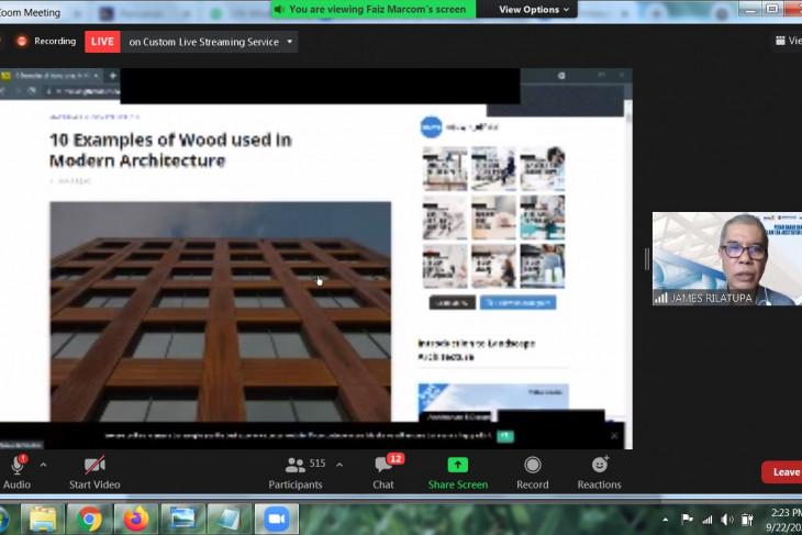 Kreasi arsitektur kian beragam di era digital