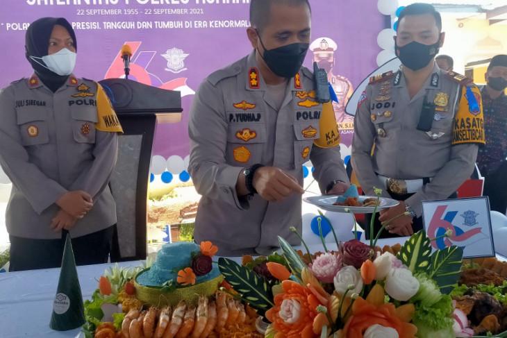 Kapolres Asahan tegaskan personel Lantas jauhi narkoba