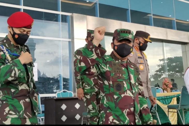 Panglima TNI Marsekal Hadi tidak mau berpolemik soal penyusupan PKI di tubuh TNI