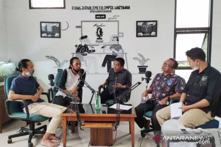 DEEP dan Vinus rilis hasil survei elektabilitas calon bupati Bogor 2024-2029