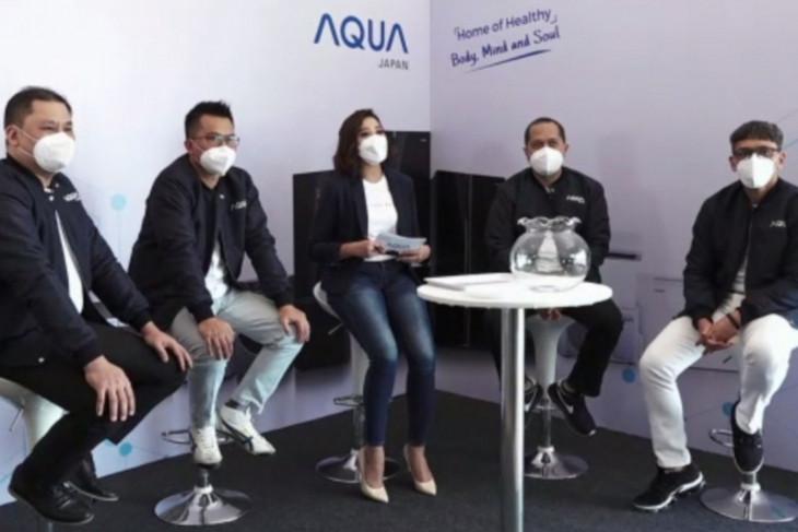 AQUA Japan luncurkan produk dengan inovasi baru