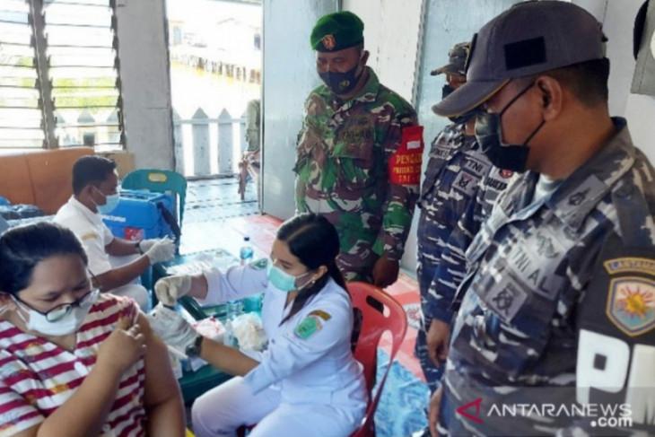 TNI AL Tanjungbalai Asahan kembali siapkan 700 dosis vaksin COVID-19