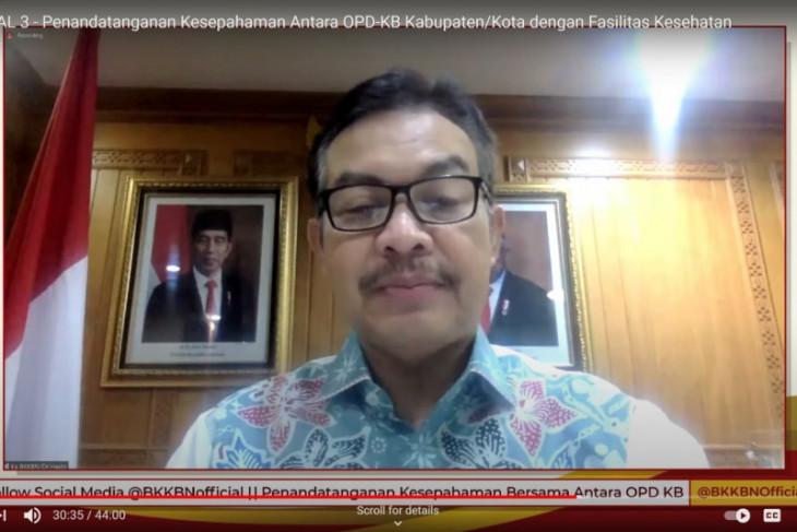 BKKBN: OPD-KB se-Indonesia MOU dengan faskes tingkatkan layanan KB