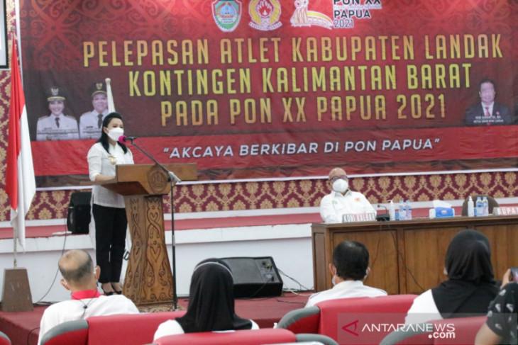 Bupati Landak doakan atlet raih banyak medali di PON XX Papua