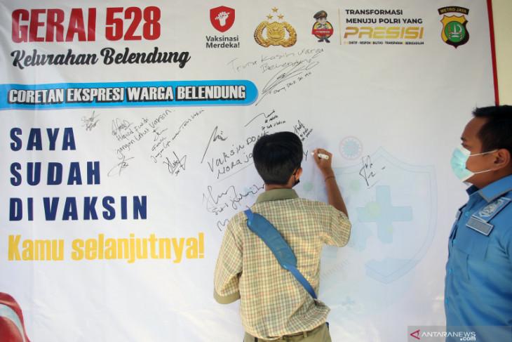 Penerima vaksin COVID-19 lengkap di Indonesia capai 47,71 juta warga