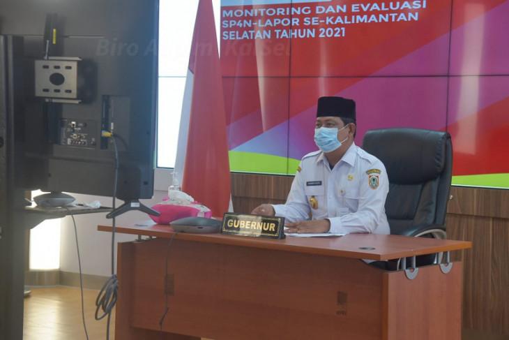 Kalsel terima 7.547 aduan masyarakat melalui SP4N LAPOR