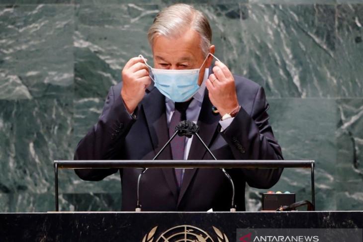 Sekjen PBB Antonio Guterres serukan pemusnahan senjata nuklir