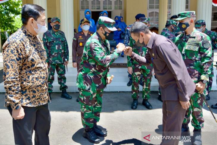 Wali kota Sabang sambut kunker Danlantamal I Belawan