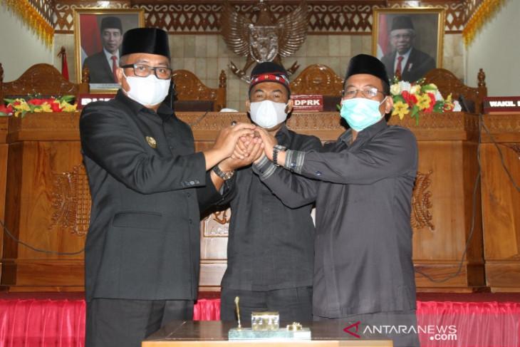 Seluruh fraksi DPRK terima Rancangan KUA-PPAS APBK-P Aceh Barat