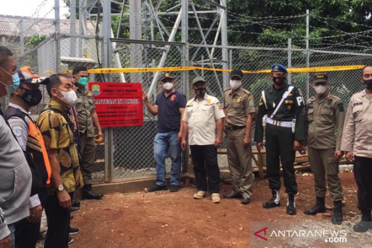 Pemkot Bekasi segel bangunan tower telekomunikasi tak berizin