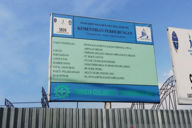 DPRD Kota Medan desak revitalisasi Terminal Amplas segera dihentikan