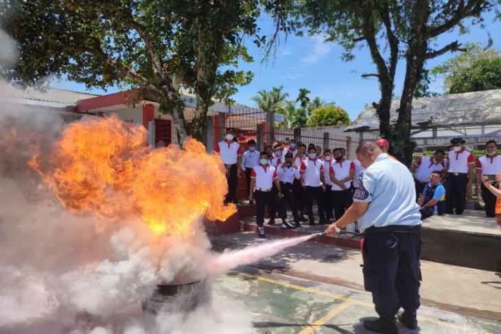 Petugas Lapas Sibolga dilatih tanggap bencana dan kebakaran