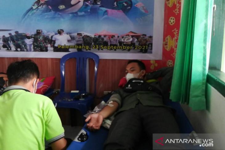 Kodim Mukomuko bantu kebutuhan darah untuk pasien RSUD