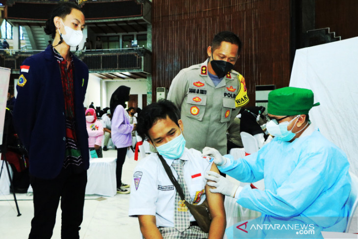 Wakapolresta Banjarmasin: 2.100 dosis vaksin COVID-19 disiapkan untuk pelajar