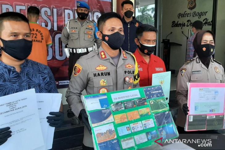 Polres Bogor ungkap kasus investasi bodong senilai Rp23,4 miliar
