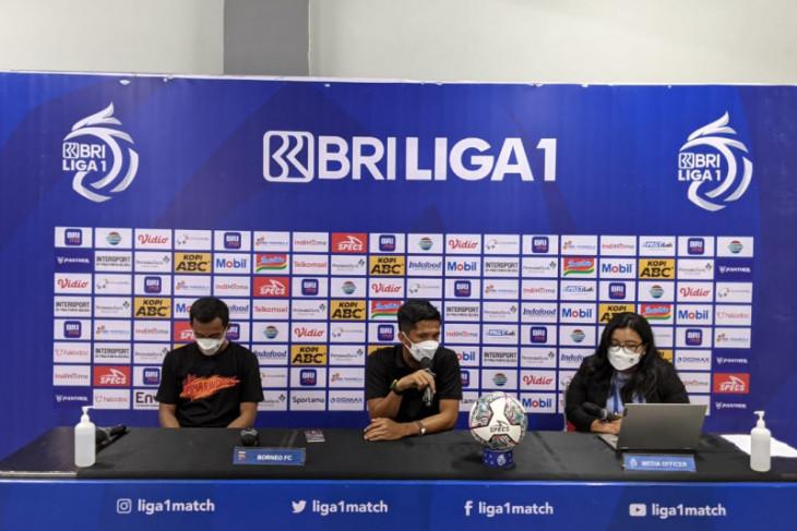 Borneo FC syukuri bisa redam Persib Bandung