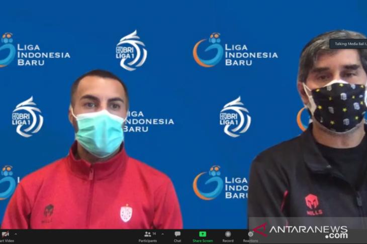 Teco minta Bali United kerja keras hadapi Persita