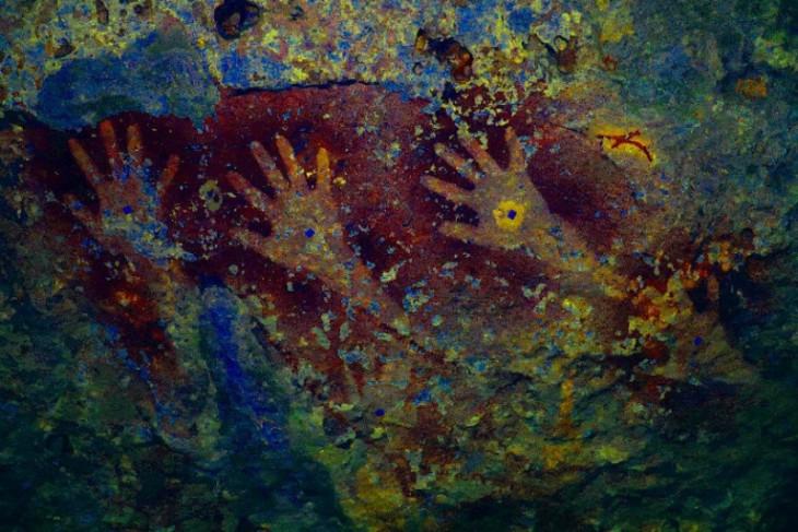 Tim arkeolog temukan 150 gambar cadas prasejarah di Pulau Kisar begini penjelasannya
