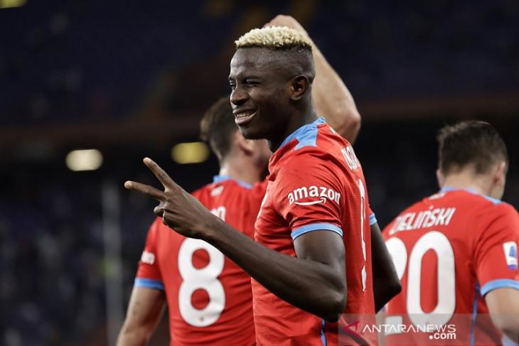 Napoli lanjutan catatan sapu bersih ketika cukur Sampdoria