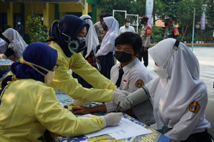 59.157 pelajar di Kabupaten Tangerang sudah divaksin COVID-19