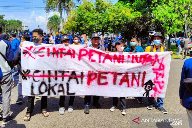 Hari Tani Nasional, berikut 9 tuntutan mahasiswa Bengkulu