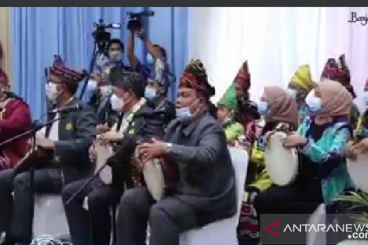 Lapsus- Pentas seni diperingatkan Harjad ke-495 di DPRD Banjarmasin