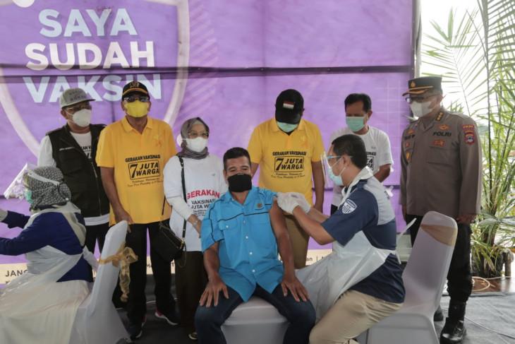 Warga binaan Rutan Rantau ikuti vaksin Sinovac dosis pertama