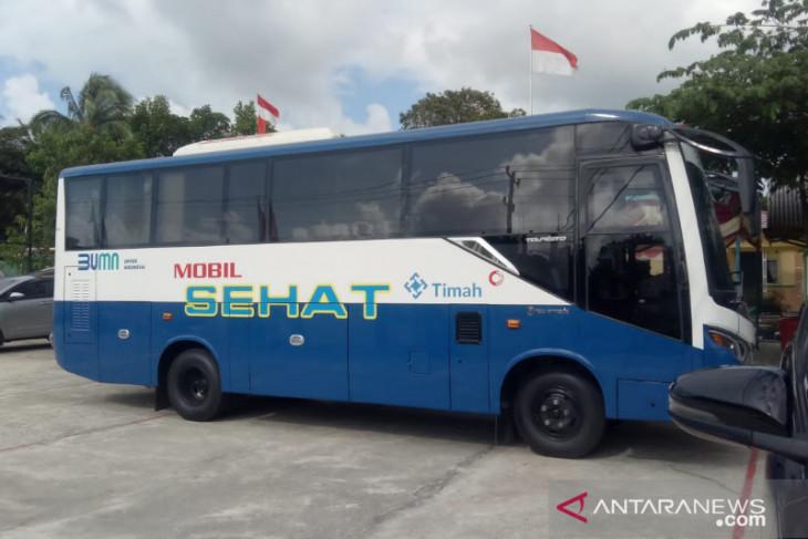 Mobil sehat PT Timah jangkau warga pelosok Bangka Barat
