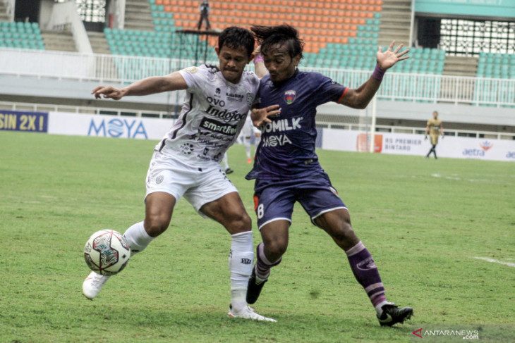 Bali United kalahkan Persita Tangerang 2-1