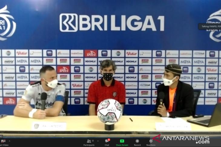 Pelatih  Teco puas Bali United petik tiga poin bagus dari Persita