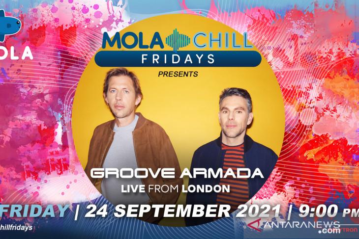 Groove Armada akan hadir di Mola Chill Fridays