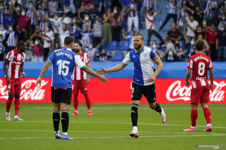 Liga Spanyol: Atletico Madrid takluk di kandang Alaves dengan skor 1-0