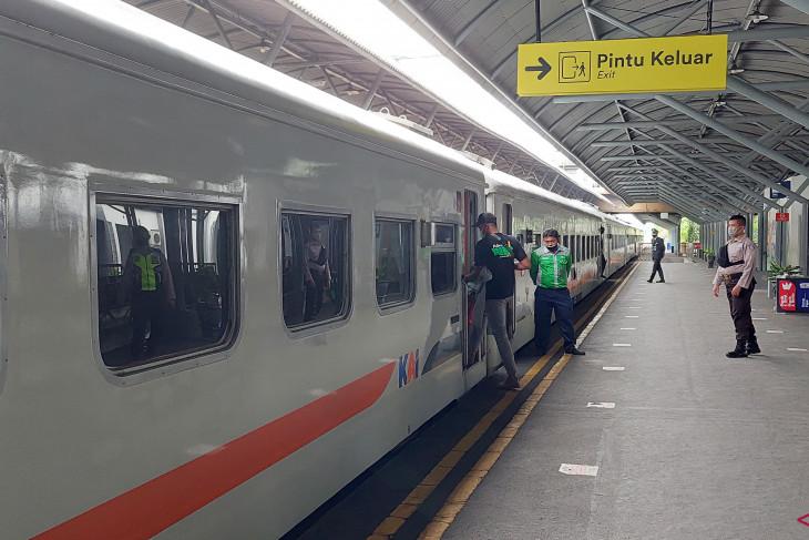 Pembangunan rel ganda Mojokerto-Sepanjang rampung 2022