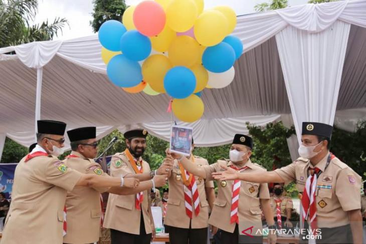Ini ajakan Mualem kepada kader Pramuka Aceh