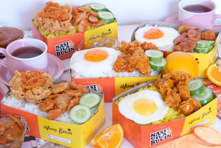 Lima kreasi Nasi Gila untuk petualang kuliner