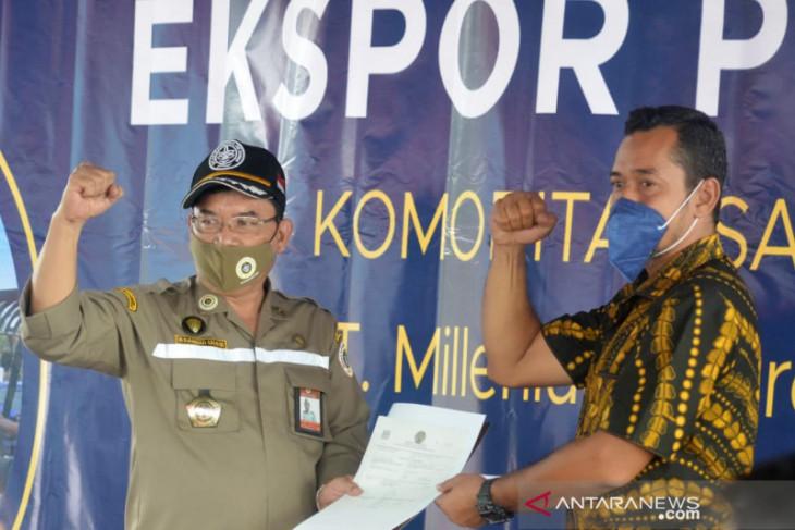 Gorontalo ekspor perdana santan kelapa beku tujuan Tiongkok