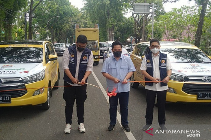 Kadin Indonesia hibahkan dua mobil vaksin keliling ke Pemkot Medan