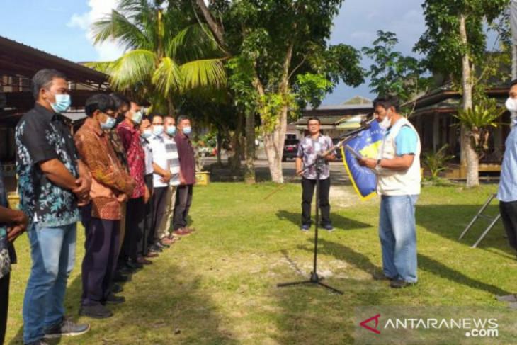 Bupati Belitung kukuhkan pengurus ormas Laskar Lanun Besaer
