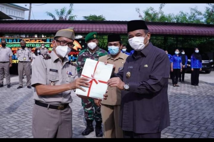 Wali Kota Tebing Tinggi jadi pembina HUT ATR/BPN ke 61
