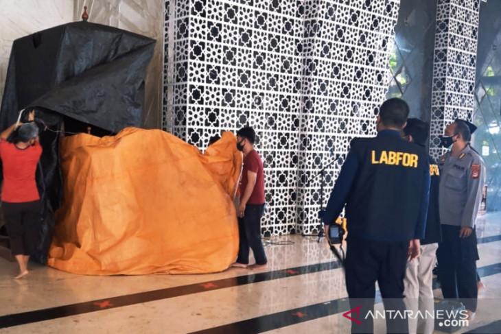 Polisi kejar pembakar mimbar Masjid Raya Makassar