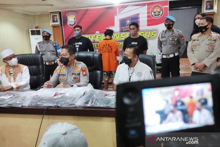 Polisi tangkap pembakar mimbar Masjid Raya Makassar