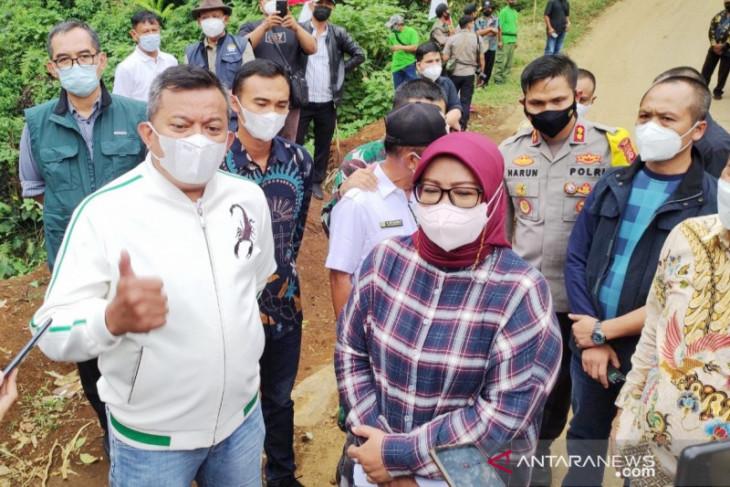 Bupati Bogor minta bantuan anggota DPR bangun Jalur Puncak II (video)