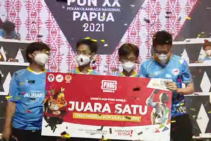 Papua PON: Jakarta wins gold in PUBG Mobile esports exhibition